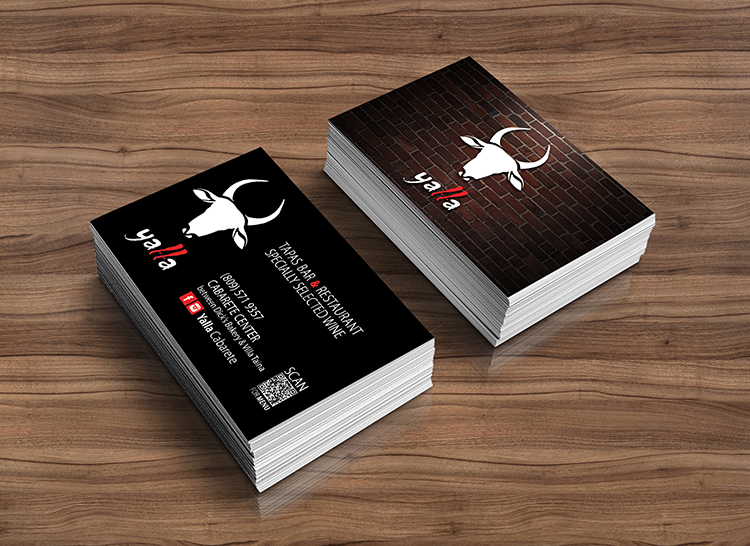 Yalla | Business Card