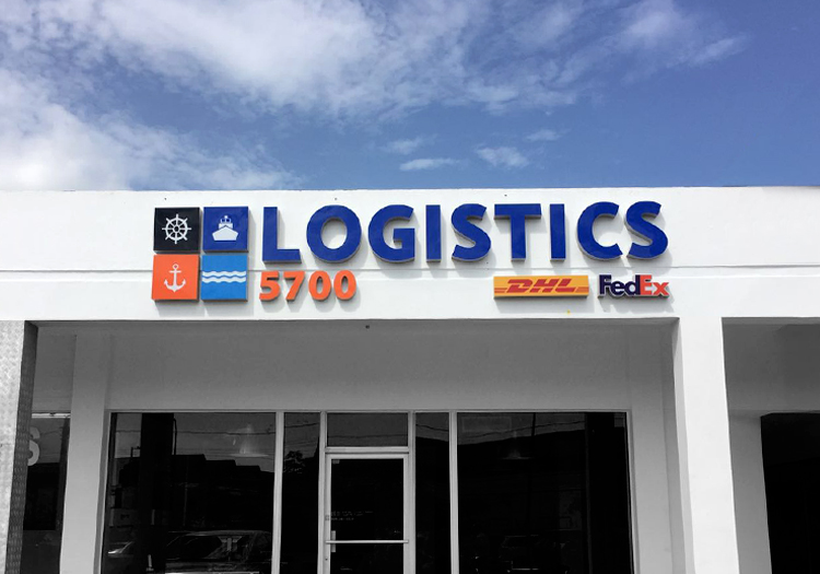 Logistics 5700_Office Sign
