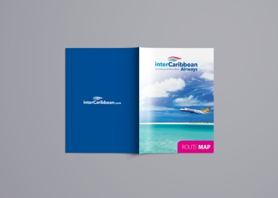 interCaribbean Airways Route Map
